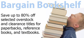 Shop Our Bargain Bookshelf and save up to 80%