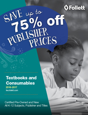 Follett Textbooks and Consumables 2016-17