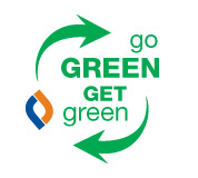 Go Green, Get Green with Follett's Book Buy Back Program.